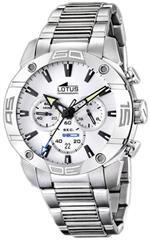 ロータス 時計 Lotus Mens CRONO L15643/1 Silver Stainless-Steel Analog Quartz Watch with Silver Dial<img class='new_mark_img2' src='https://img.shop-pro.jp/img/new/icons27.gif' style='border:none;display:inline;margin:0px;padding:0px;width:auto;' />