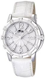 ロータス 時計 Lotus Womens Glee L15745/1 White Leather Quartz Watch with White Dial<img class='new_mark_img2' src='https://img.shop-pro.jp/img/new/icons39.gif' style='border:none;display:inline;margin:0px;padding:0px;width:auto;' />