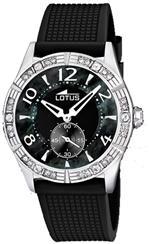 ロータス 時計 Lotus Womens Cool L15737/6 Black Rubber Quartz Watch with Mother-Of-Pearl Dial<img class='new_mark_img2' src='https://img.shop-pro.jp/img/new/icons16.gif' style='border:none;display:inline;margin:0px;padding:0px;width:auto;' />