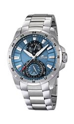 ロータス 時計 Lotus 15843-2 Mens Blue and Silver Multifunction Watch