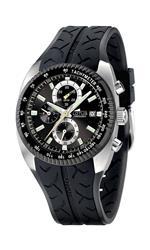 ロータス 時計 Lotus Mens SPORT L15423/3 Black Polyurethane Analog Quartz Watch with Black Dial