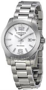 ロンジン 時計 Longines Conquest Stainless Steel Ladies Watch L32774766