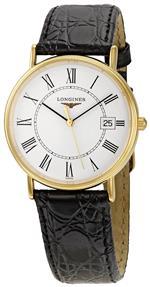 ロンジン 時計 Longines Mens LNG47202112 La Grande Classique Presence White Dial Watch<img class='new_mark_img2' src='https://img.shop-pro.jp/img/new/icons31.gif' style='border:none;display:inline;margin:0px;padding:0px;width:auto;' />