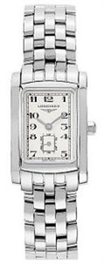 ロンジン 時計 Longines DolceVita Womens-Large Stainless Steel Watch L55024736
