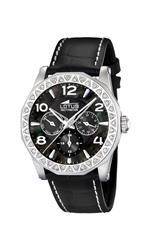 ロータス 時計 Lotus Womens Cool L15684/3 Black Leather Quartz Watch with Mother-Of-Pearl Dial<img class='new_mark_img2' src='https://img.shop-pro.jp/img/new/icons9.gif' style='border:none;display:inline;margin:0px;padding:0px;width:auto;' />
