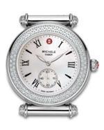 <img class='new_mark_img1' src='https://img.shop-pro.jp/img/new/icons1.gif' style='border:none;display:inline;margin:0px;padding:0px;width:auto;' />ミッシェル 時計 Michele Caber Diamond Head Diamond Case Mww16a000043 Watch