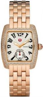 ミッシェル 時計 MICHELE Urban Mini Diamond Rose Gold Bracelet Watch