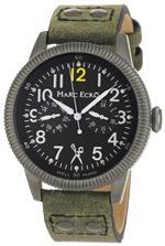 マークエコー 時計 Marc Ecko Mens E14541G1 The Recon Black Dial Green Canvas Strap Watch