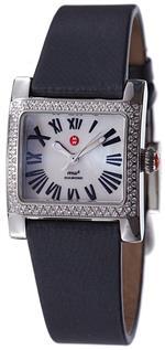 ミッシェル 時計 Michele Mini Diamond Ladies Watch - Black silk strap<img class='new_mark_img2' src='https://img.shop-pro.jp/img/new/icons9.gif' style='border:none;display:inline;margin:0px;padding:0px;width:auto;' />