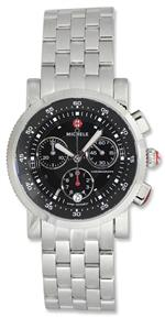 <img class='new_mark_img1' src='https://img.shop-pro.jp/img/new/icons30.gif' style='border:none;display:inline;margin:0px;padding:0px;width:auto;' />ミッシェル 時計 MICHELE Womens MWW01C000022 Sport Sail Analog Display Swiss Quartz Silver Watch