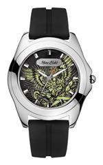 マークエコー 時計 Marc Ecko Mens E07502G1 Encore Oz 3 Hand Movement Graphic Dial Watch