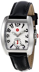 ミッシェル 時計 Michele Womens MWW02A000128 Urban Mini Black Leather Strap Watch<img class='new_mark_img2' src='https://img.shop-pro.jp/img/new/icons15.gif' style='border:none;display:inline;margin:0px;padding:0px;width:auto;' />