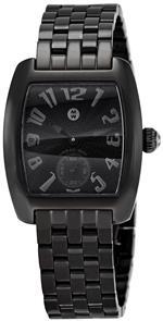 ミッシェル 時計 Michele Womens MWW02A000509 Urban Mini Black Dial Watch