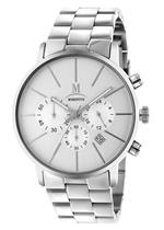 モメンタス 時計 Momentus Silver Stainless Steel White Dial Chronograph Mens Watch FD238S-02SS<img class='new_mark_img2' src='https://img.shop-pro.jp/img/new/icons29.gif' style='border:none;display:inline;margin:0px;padding:0px;width:auto;' />