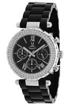 モメンタス 時計 Momentus Stainless Steel SWAROVSKI Crystals Bezel Womens Watch TR152C-04CD