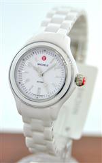 ミッシェル 時計 Michele Womens MWW17E000002 Jetway Mini White Ceramic Watch