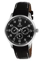 モメンタス 時計 Momentus Stainless Black Leather Band amp Dial Chronograph Mens Watch FD240S-04BS<img class='new_mark_img2' src='https://img.shop-pro.jp/img/new/icons14.gif' style='border:none;display:inline;margin:0px;padding:0px;width:auto;' />