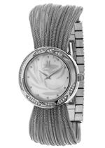 モメンタス 時計 Momentus Silver Tone Stainless Steel White Dial Womens Crystal Watch FJ166S-09SC<img class='new_mark_img2' src='https://img.shop-pro.jp/img/new/icons26.gif' style='border:none;display:inline;margin:0px;padding:0px;width:auto;' />