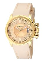モメンタス 時計 Momentus Stainless Steel with Beige Rubber Band Womens Watch TR108G-08RB<img class='new_mark_img2' src='https://img.shop-pro.jp/img/new/icons11.gif' style='border:none;display:inline;margin:0px;padding:0px;width:auto;' />