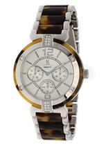 モメンタス 時計 Momentus TC115S-01CS Tortoise Shell Stainless Steel Multifunction Womans Watch