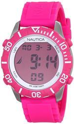 ノーティカ 時計 Nautica Unisex N09930G NSR 100 Watch with Pink Band<img class='new_mark_img2' src='https://img.shop-pro.jp/img/new/icons21.gif' style='border:none;display:inline;margin:0px;padding:0px;width:auto;' />