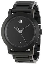 モバード 時計 Movado Mens 0606615 Sport Museum Sport Quartz Watch
