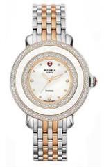 ミッシェル 時計 Michele MWW20E000007 Ladies Cloette Diamond Rose Gold Two Tone Womens Swiss Movement