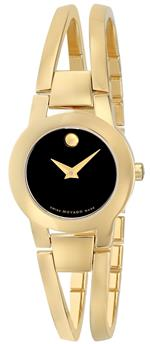 モバード 時計 Movado Womens 604758 Amorosa Gold-Tone Stainless Steel Bangle Bracelet Watch<img class='new_mark_img2' src='https://img.shop-pro.jp/img/new/icons35.gif' style='border:none;display:inline;margin:0px;padding:0px;width:auto;' />