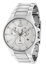 モメンタス 時計 Momentus Titanium Band White Dial Chronograph Mens Watch TM245T-02MT