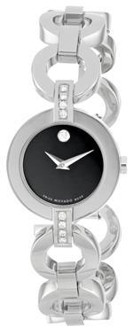 モバード 時計 Movado Womens 606263 Belamoda Stainless-Steel Bracelet Watch