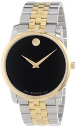 モバード 時計 Movado Mens 0606605 quotMuseumquot Two-Tone Stainless Steel Bracelet Watch<img class='new_mark_img2' src='https://img.shop-pro.jp/img/new/icons27.gif' style='border:none;display:inline;margin:0px;padding:0px;width:auto;' />
