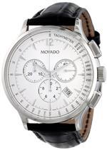モバード 時計 Movado Mens 0606575 Circa Black Crocodile-Embossed Leather Strap Watch<img class='new_mark_img2' src='https://img.shop-pro.jp/img/new/icons33.gif' style='border:none;display:inline;margin:0px;padding:0px;width:auto;' />