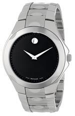モバード 時計 Movado Mens 606378 Luno Sport Stainless-Steel Black Round Dial Bracelet Watch<img class='new_mark_img2' src='https://img.shop-pro.jp/img/new/icons22.gif' style='border:none;display:inline;margin:0px;padding:0px;width:auto;' />