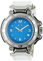 オークリー 時計 Oakley Womens 10-815 Crankcase 3 Hand Small Blue Dial Watch