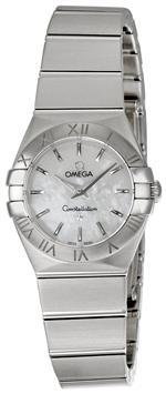 オメガ 時計 Omega Womens 123.10.24.60.05.001 Constellation Mother-Of-Pearl Dial Watch