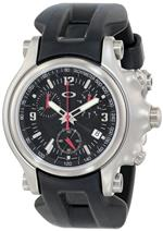 オークリー 時計 Oakley Mens 10-215 Holeshot Unobtainium Strap Edition Chronograph Rubber Watch<img class='new_mark_img2' src='https://img.shop-pro.jp/img/new/icons33.gif' style='border:none;display:inline;margin:0px;padding:0px;width:auto;' />