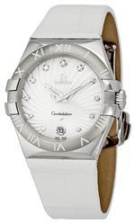 オメガ 時計 Omega Womens 123.13.35.60.52.001 Constellation Quartz Diamond Bezel Watch<img class='new_mark_img2' src='https://img.shop-pro.jp/img/new/icons11.gif' style='border:none;display:inline;margin:0px;padding:0px;width:auto;' />