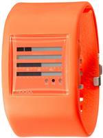 <img class='new_mark_img1' src='https://img.shop-pro.jp/img/new/icons35.gif' style='border:none;display:inline;margin:0px;padding:0px;width:auto;' />ヌーカ 時計 Nooka Unisex ZUB-ZENH-BO-38 Zub ZenH Burnt Orange Polyurethane Watch