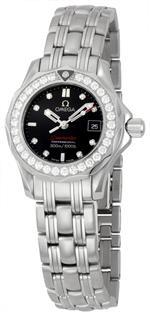 オメガ 時計 Omega Womens 212.15.28.61.51.001 Seamaster 300M Quartz Diamond Bezel Watch<img class='new_mark_img2' src='https://img.shop-pro.jp/img/new/icons27.gif' style='border:none;display:inline;margin:0px;padding:0px;width:auto;' />