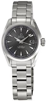 オメガ 時計 Omega Womens 231.10.30.20.06.001 Aqua Terra Grey Dial Watch