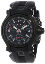 オークリー 時計 Oakley Mens 10-228 Holeshot Stealth Unobtainium Limited Edition Chronograph Rubber