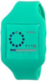 ヌーカ 時計 Nooka Unisex ZUB-ZIRC-NG-20 Zub Zirc Neon Green PolyurethaneWatch