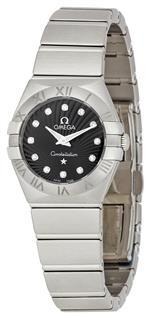 オメガ 時計 Omega Womens 123.10.24.60.51.001 Constellation 09 Brushed Black Dial Watch<img class='new_mark_img2' src='https://img.shop-pro.jp/img/new/icons40.gif' style='border:none;display:inline;margin:0px;padding:0px;width:auto;' />
