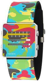ヌーカ 時計 Nooka Unisex ZENH-CAMO-X ZenH Camouflage Multicolor Aluminum Watch