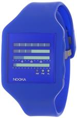 <img class='new_mark_img1' src='https://img.shop-pro.jp/img/new/icons32.gif' style='border:none;display:inline;margin:0px;padding:0px;width:auto;' />ヌーカ 時計 Nooka Unisex ZUB-ZENH-DB-20 Zub ZenH Deep Blue Polyurethane Watch