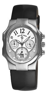 フィリップ ステイン 時計 Philip Stein Womens 22-FMOP-LB Classic Chronograph Dial Watch