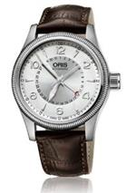 オリス 時計 Oris Big Crown Pointer Date Silver Dial Brown Leather Mens Watch 01 754 7679 4061-07 5