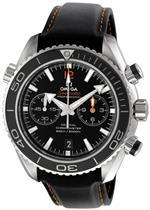オメガ 時計 Omega Mens 232.32.46.51.01.005 Seamaster Planet Ocean Black Dial Watch