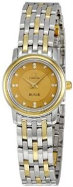オメガ 時計 Omega Deville Prestige Diamond Ladies Watch 4370.16