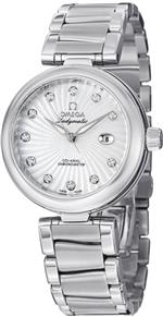 オメガ 時計 Omega De Ville Ladymatic Stainless Steel Mother of Pearl Diamond Automatic Watch<img class='new_mark_img2' src='https://img.shop-pro.jp/img/new/icons33.gif' style='border:none;display:inline;margin:0px;padding:0px;width:auto;' />